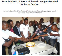 Male Survivors of Sexual Violence in Kampala Demand for Better Services