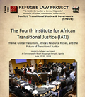 The Fourth Institute for African Transitional Justice (IATJ) Report